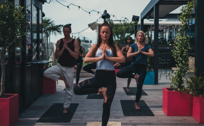 YOGA ON THE ROOFTOP